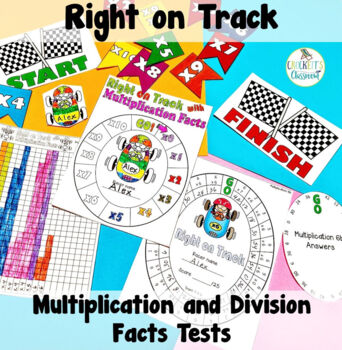 Multiplication and Division Facts Tests for Mastery by