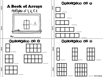 Multiplication for Beginners- Using Arrays for Multiples