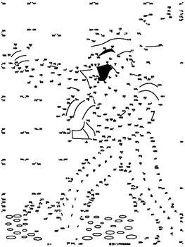 Mummy Extreme Dot-to-Dot / Connect the Dots PDF by Tim's