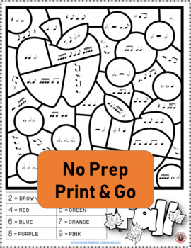 Fall Coloring Sheets: 26 Music Coloring Pages by