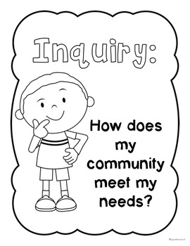 My Community Inquiry {Inquiry Based Learning} by A Grade