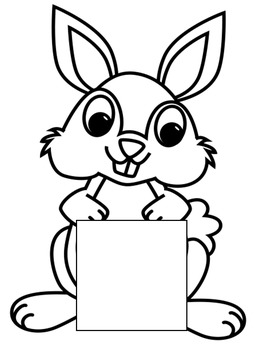 My Easter Bunny Story Creative Writing Activity by Tanya