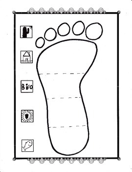 Footprint Worksheet Answer Key Science. Footprint. Best