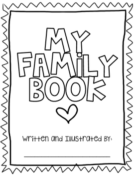 My Family Book (A Narrative Writing Activity} by Jamie