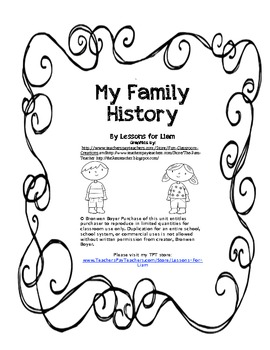 My Family History: An Interview With a Relative by Running