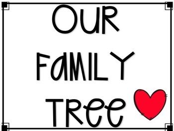 My Family Tree (A Family Project) English and Spanish