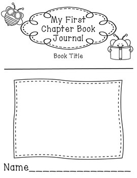 Beginning Chapter Book Reading Response Journal by Love