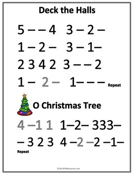 My First Christmas Songs (finger numbers) by Music