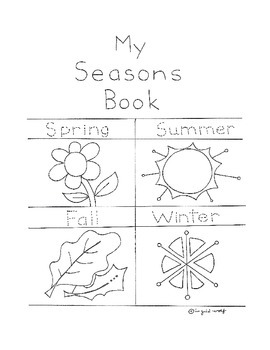 My Four Seasons Book and Reader's Theatre Plays by Ingrid
