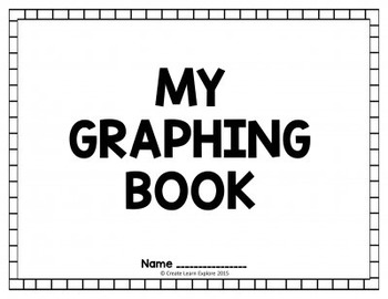 Bar Graphs Pictographs Line Plots My Graphing Book by