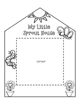 My Little Sprout House Printable by The Chalkboard Garden