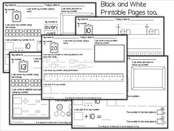 DIGITAL and PRINTABLE No Prep 1st Grade Math by Mama