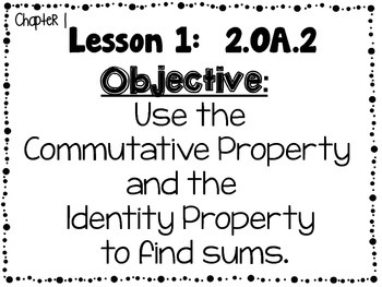 My Math McGraw-Hill Grade 2 Learning Objectives Chapters 1