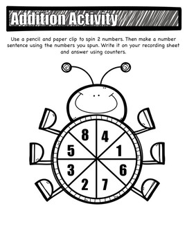 My Math Unit 1 Lesson 1 First Grade Supplement Resource