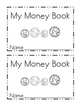 Printable coin booklet