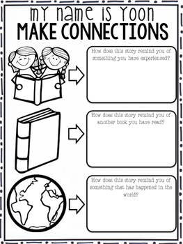 My Name is Yoon: Reading Comprehension Strategies by