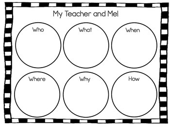 My New Teacher and Me! 43 pgs of Common Core Activities by