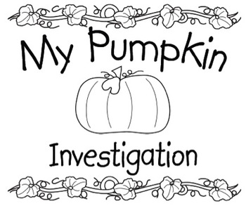 My Pumpkin Investigation Book by Perfectly Primary