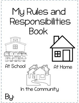 My Rules and Responsibilities Booklet by Create Dream