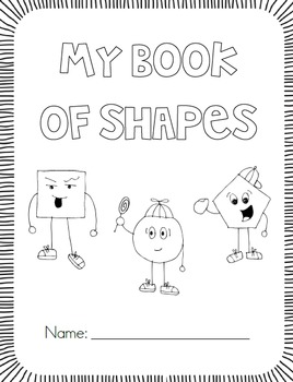 My Shape Book {All About 2D Shapes} by First Grade Garden