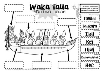 My Waka {3D Waka Taua foldable + 40 page Mini booklet} by