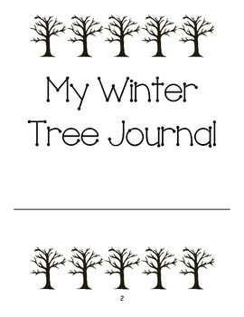 My Winter Tree Journal (FOSS Science, Trees) by Kathryn