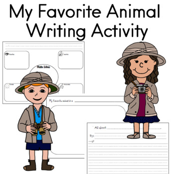 My favorite animal writing activity by Sailing Through the