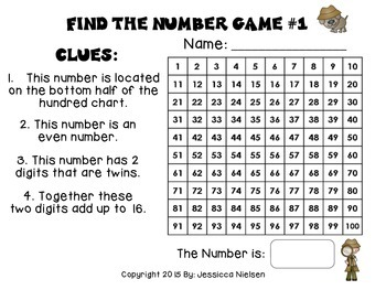 Mystery Number Games For Number Detectives by The Third