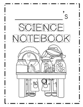 Mystery Science Notebook or Composition Book COVER by