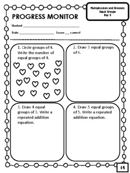 NEW 4th & 5th Grade Multiplication and Division