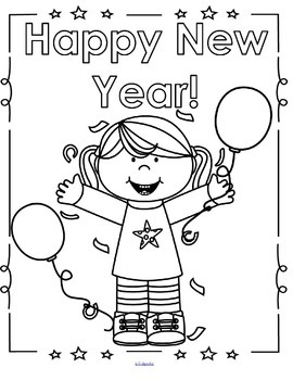 NEW YEAR Centers and Activities for Preschool and Pre-K by