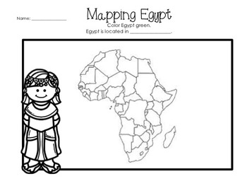 Ancient Egypt Worksheets & Printables by Glitter in Third