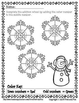NO PREP Math Fun Christmas Packet Common Core n MAFS First