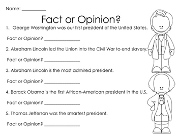 Presidents' Day Worksheets & Printables by Glitter in ...