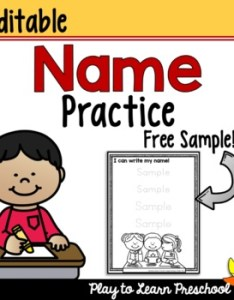 also name worksheet free by play to learn preschool tpt rh teacherspayteachers