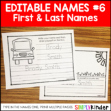 Practice Writing First And Last Name Worksheets & Teaching Resources   TpT