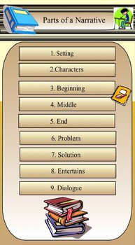 Narrative Text Ppt : narrative, Narrative, Story, Outline, Writing, Powerpoint, Slideshow, Geis19