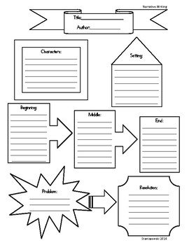 Narrative Writing Graphic Organizer/Story Elements by