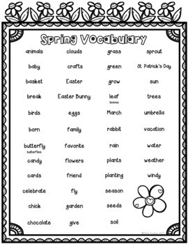 Personal Narrative Writing, Transition Words, Sentence