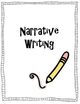 Narrative Writing, Writing Prompts, Writing Graphic