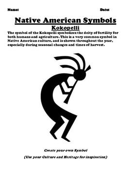 Native American Symbol Kokopelli Worksheet by Pointer