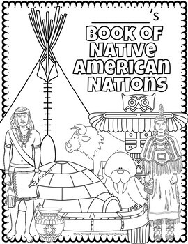 Native Americans Activity Posters by Elementary Lesson