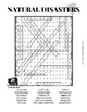 Natural Disasters Word search Worksheet Puzzle by