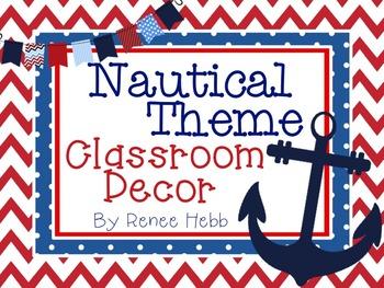 Nautical Theme Classroom De by Renee Hebb  Teachers