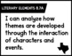 New ELAR TEKS I Can statements for 8th grade by Teach With