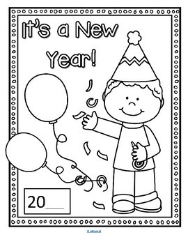New Year Activities NO PREP for Preschool Pre-K and