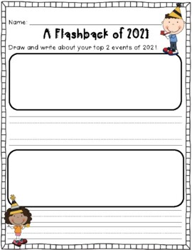 New Years 2019 Glyph and Resolutions Printables by Anne
