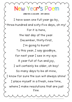New Years Writing Printables 2018 for 1st and 2nd Graders