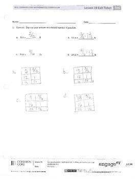 Common core algebra 1 unit 5 lesson 2 homework answer key
