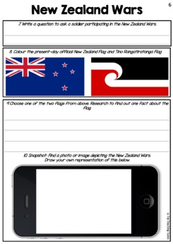 New Zealand Land Wars Reading Comprehension Activities